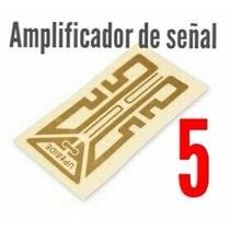 5 Antenas Amplificador De Señal P/ Teléfono Celular Booster