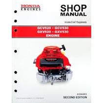 Honda Gcv520 Gcv530 Gxv520 Gxv530 Servicio Del Motor Manual