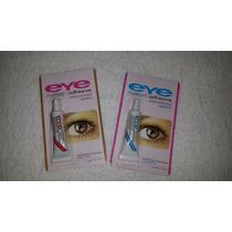 Pega Para Pestañas Postizas Eye Transparentes Y Negras