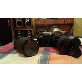 Nikon Fm 10 + Soligor 80-200 Mm