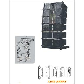 Planos Originales Para Fabricar Cajas Acusticas, Line Arrays