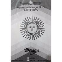 Condor Decals 72058 1/72 Argentine Mirage Iii V Last Flight