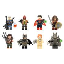 Genial Set Sw1 Batman Vs Superman Aquaman Compatible Lego