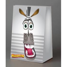 Bolsitas Golosineras Madagascar Personalizadas X10