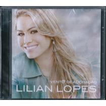 Cd Lilian Lopes - Vento De Adoração (original)