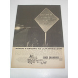 L 290/ Pmho300 Propaganda Antiga Simca Chambord 1962
