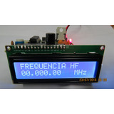 Frequencimetro Microcontrolado Para Testes Gerias 30 Mhz