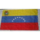 Bandera Países Venezuela 0,90cm X 1,50m