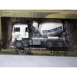 Miniatura Betoneira Caminhão Scania Lks 140 1/43 Coleção