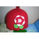 Gorro Tejido Al Crochet P/ Bebes, Niñas Y Adolescentes