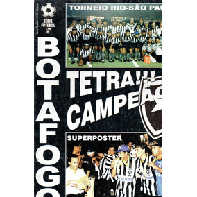 Poster Do Botafogo Tetra Campeao