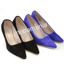 Stilettos De Cuero Tacos Zapatos De Vestir De Colores Oferta