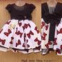 Vestido Minnie Super Luxo Alta Costura Festa