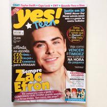 Revista Yes Teen N°38 Zac Efron Justin Bieber
