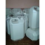 Bidones Plasticos Blancos Nuevos De 5 Litros Por 21 Unidades