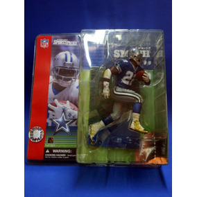 2001 Mcfarlane Football Series 1-2 # 53 Emmitt Smith/blue Wi