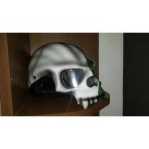 Capacete Harley, Shadow, Custom, Caveira Brasil Moto Selo