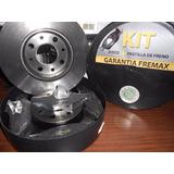 Kit 6 Disco Y Pastilla Renault 9-11-18-19-clio Fremax