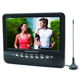 Tela Monitor Lcd Bak Tv 9 Polegadas C/ Antena + Controle