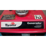 Planta Eléctrica Toyama 950 Watt A Gasolina