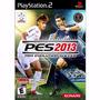 Jogo Original Futebol Pes 2013 Ps2 Playstation Frete Gratis