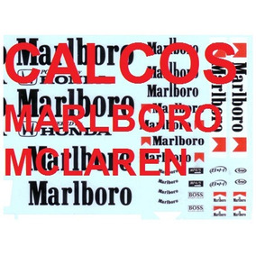 Calco Marlboro - Stickers Para Mclaren F1 1:43 De Salvat