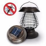 Mata Mosquitos Lanterna Movido A Energia Solar