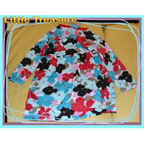 Vestido Gamuzado Abrigo 2 Colores Risata Little Treasure.