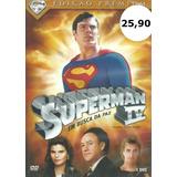 Dvd Filme - Superman 4: Em Busca Da Paz (dubl/leg//lacrado)
