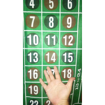 Paño Ruleta Casino Mesa Gigante 180x90!! Almagro Nuevo