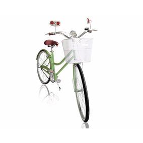 Bicicleta Vintage Clásica Retro Con Canasta Pro Pedalé R24