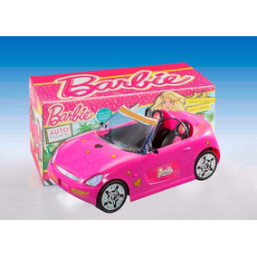 Auto Barbie Fashion Descapotable C/stickers Tienda Oficial