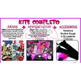 Caja Despedida De Soltera - Kit Completo - 24 Chicas
