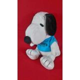 Snoopy, Vestido Con Sudadera Azul De Colección