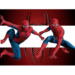 Kit Imprimible 2x1 Spiderman Hombre Araña Candy Bar Cotillon