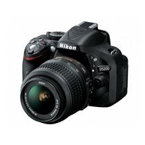 Câmera Nikon D5200 18-55mm+cartão 32gb+bolsa