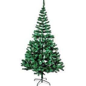 Árvore De Natal Pinheiro Verde 2,10m C/510 Galhos