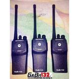 Radio Portátil Motorola Ep450 Vhf Antena Batería Y Cargador