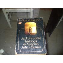 Livro As 3 Primeiras Histórias Sabrina, Julia E Bianca