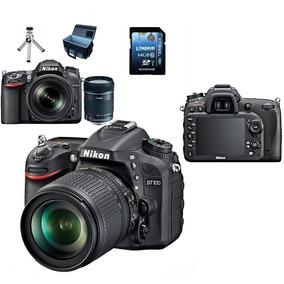 Nikon D7100 24.1 Mp +lente18-105mm+bolsa+64gb+tripé S/ Juros