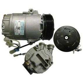 Compressor Gm Meriva 5pk Original Deplhi + Filtro Secador