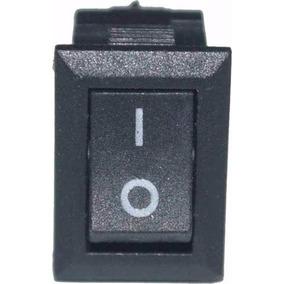 Botão Liga Desliga Mini Interruptor Luz 2 Posições Universal