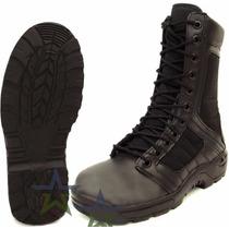 Botas Tacticas Militares Policiaca Swat Kaki Y Negra Ligera