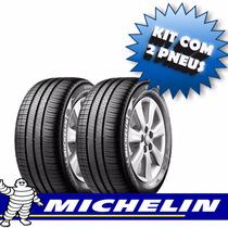 Kit Pneu 195/60r15 88h Michelin Xm2 Green X 2 Unidades