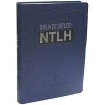 Bíblia De Estudo Ntlh Grande 17x23,5 + Plenitude Jovens Luxo