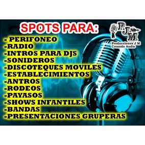 Presentaciones,intros Para Sonideros,djs Grupos Y Musicales