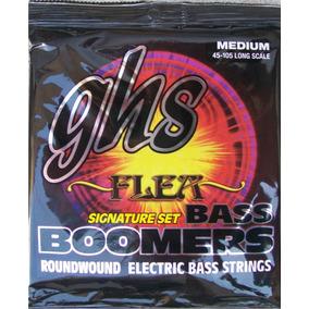 Encordoamento Ghs Boomers Baixo 4c Assinatura Flea Set M3045