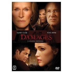 Box Damages - 2 Temporada (3 Dvd ) - Glenn Close Rose Byrne