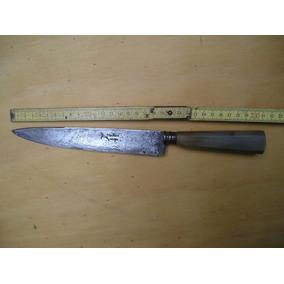 Cuchillo Antiguo Franz Wenk Solingen Cabo Guampa 0.31 Largo