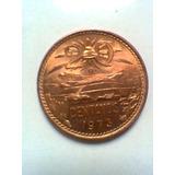 20 Centavos De Cobre Moneda Mexicana 1973 Sin Circular